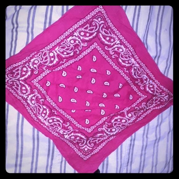 none Accessories - Pinkish bandana